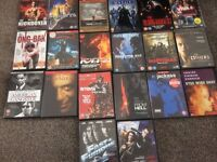 20 various dvds as per pictures