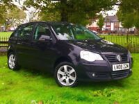 VOLKSWAGEN POLO 1.4 LTR PETROL MATCH 5 DOOR AUTOMATIC FULL SERVICE HISTORY**3 MONTHS WARRANTY**