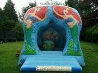 Large mermaid bouncy castle