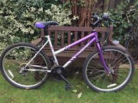 CHALLENGE LADIES MOUNTAIN BIKE (SECOND HAND REFURBISHED) £55