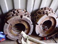 Tractor Wheel Weights £200 ONO