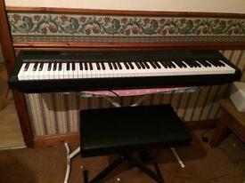 Yamaha keyboard p-105