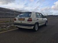 1991 MK2 Golf GTI 8v Alpine White 137,000mls Very Original Car Unmodified