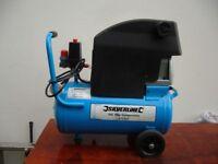 SILVERLINE 2HP Compressor 24L Oil Free - 8 Bar (116bsi) 1500W