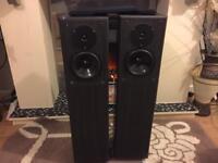 pair of Gale Model 4 8 ohms Floor-standing speakers