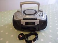 Alba Portable CD Stereo Radio Cassette Player Model CX532Xi