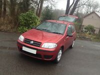 FIAT PUNTO ACTIVE /NEW MOT IDEAL SIZE CAR/LOW INSURANCE/LOW MILES FOR YEAR