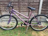 "UNIVERSAL CYCLES 'FUSION' GIRLS/LADIES 26"" 15 SPEED MOUNTAIN BIKE"