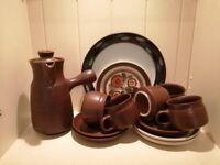 Denby pottery selection