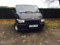 ***FORD TRANSIT MINT CONDITION **FULL welding **new mot ** genuine mileage **100***