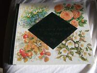 assortment of gardening books