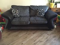 DFS Charcoal Sofa Bed