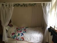 Children's Single Princess 4 poster Bed
