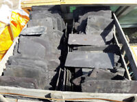 Crate of used Slates. Approx 400 number.