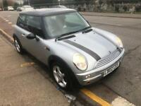 2002 Mini Cooper 1.6 Petrol Manual 3dr Mot Silver