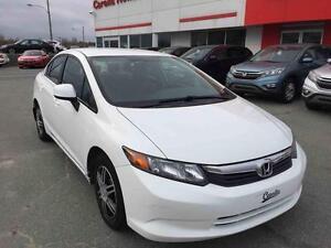2012 Honda Civic Sdn LX **RETOUR DE LOCATION, 1 SEUL PROPRIO**