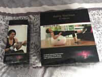 Kelly Holmes Gym Ball & Wrist Weights