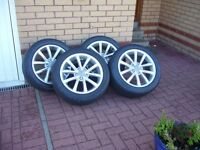 Audi A3 genuine set of immaculate wheels and tyres off 2012 model