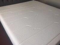 Tempur Cloud Deluxe 22inch Super King 180 cm + Custom Bed Frame