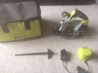 Ryobi skill saw all works with laser 60 pound no offer