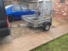 Plant trailer 750kg rating.