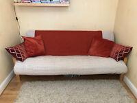 Futon Company 3-seat futon with thick mattress