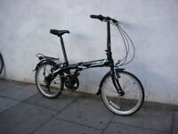 Compact Folding / Commuter Bike by Dahon, Black, JUST SERVICED / CHEAP PRICE!!!