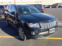 2014 Jeep Compass Limited - 100% APPROVALS @ TMRFINANCIAL.CA