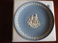 Set of Wedgwood Nativity plates 1991-1999