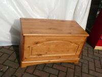 Two-wooden linen chests