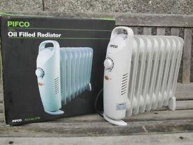 2 Oil filled radiators For Sale.
