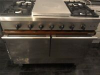 Ambassade Range Cooker, Dual-Fuel, Stainless Steel....