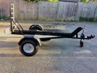 Motorcycle Trailer - Loading Ramp – £££'s of New Parts, Just Serviced.