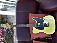 Telecaster style guitar.