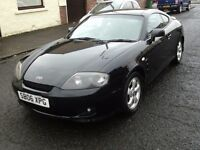 2006 06 HYUNDAI COUPE 1.6 S ** ONLY 80000 MILES ** 12 MONTH MOT **