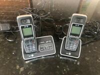 BT 6500 Twin Cordless Phones with Answer Machine