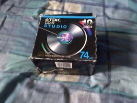 9 CD-R Disks For Sale