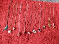 Bundle of necklaces / jewellery