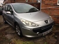 2007 Peugeot 307 s hdi, 2 owners, 2 keys, hpi clear Bargain