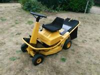 """ALKO AL-KO RIDE ON LAWN MOWER 25""""cut 3 speed alloy deck lawnmower sit on"""