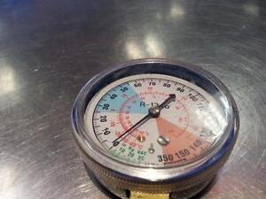 Yellow Jacket Test Gauge. We sell used tools. (#17479) (M)