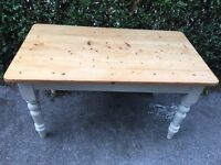 Farm House Kitchen Table with draw