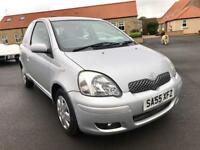 2005 55 TOYOTA YARIS 1.0 COLOUR COLLECTION VVT-I 3d 65 BHP