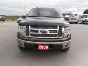 2009 Ford F-150 KING RANCH,CREW,4X4,LEATHER,ONLY 155 KM!! Kitchener / Waterloo Kitchener Area image 2