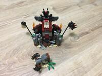 Lego Ninjago 2254 Mountain Shrine 100% Complete + Instruction