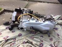 Piaggio zip 70cc polini engine