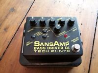 Tech 21- Sans Amp - Bass Driver DI