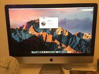 "27"" Apple iMac Late 2012"