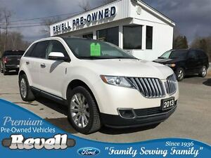 2013 Lincoln MKX AWD  *Lincoln Luxury ONLY 50K Panoramic Vista R