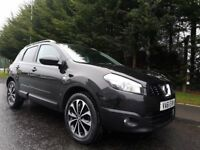 2012 NISSAN QASHQAI N-TEC 2WD 1.5 DCI DIESEL JUST SERVICED 4X NEW TYRES PAN-ROOF REVERSE CAMERA NAV!